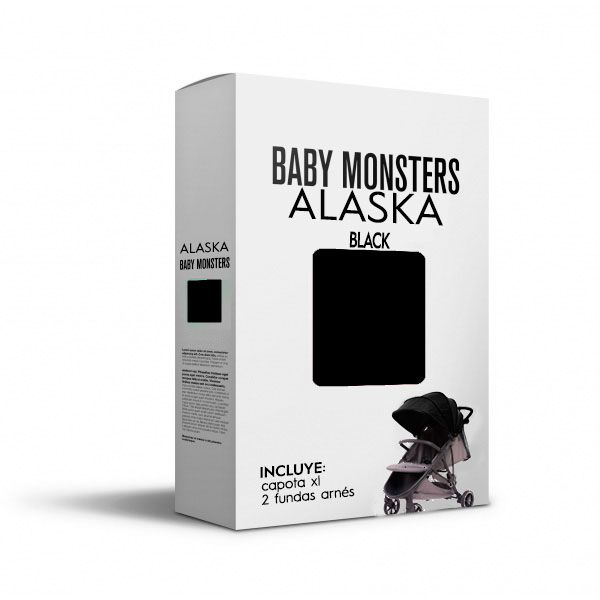 Baby Monsters Set Color para Alaska Black