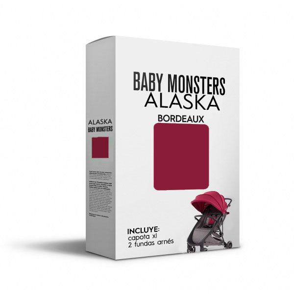Baby Monsters Set Color para Alaska Bordeaux