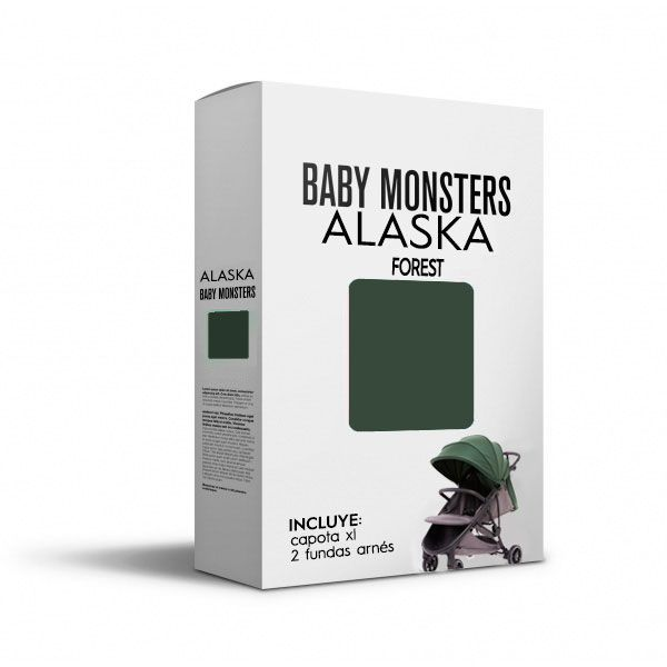 Baby Monsters Set Color para Alaska Forest