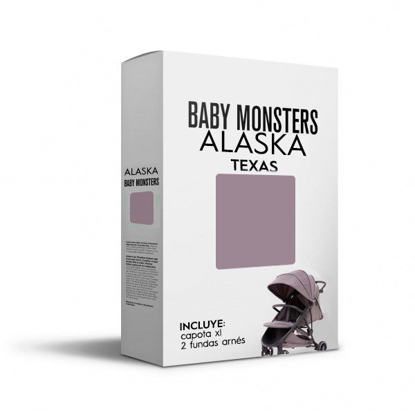 Baby Monsters Set Color para Alaska Texas