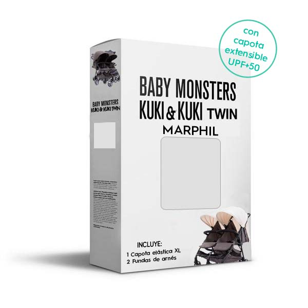 Baby Monsters Set Color para Kuki y Kuki Twin Marphil