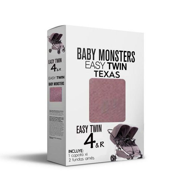 Baby Monsters Set Color para Easy Twin 4