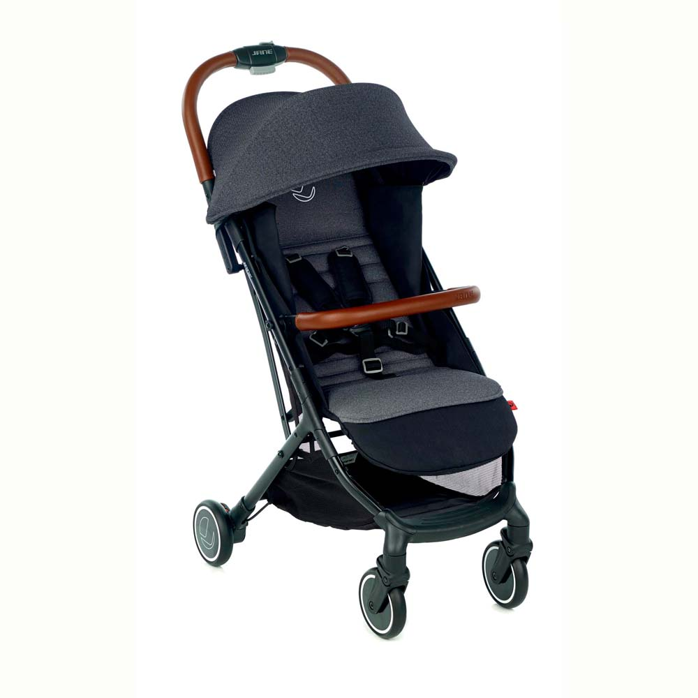 Silla de Paseo Jané Rocket 2 Cold Black