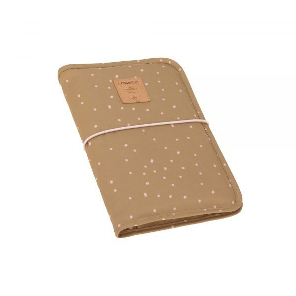 Cambiador Casual Changing Pouch Dots Curry Lassig