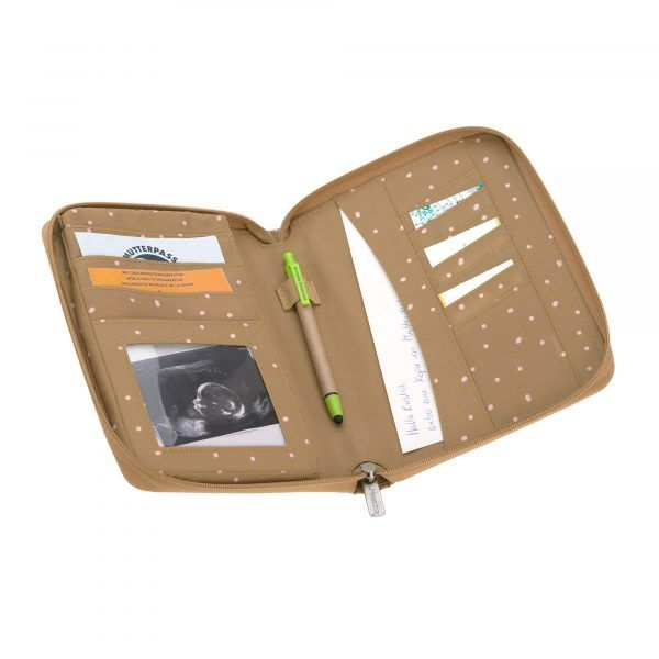 Portadocumentos Casual Document Pouch Dots Curry Lassig