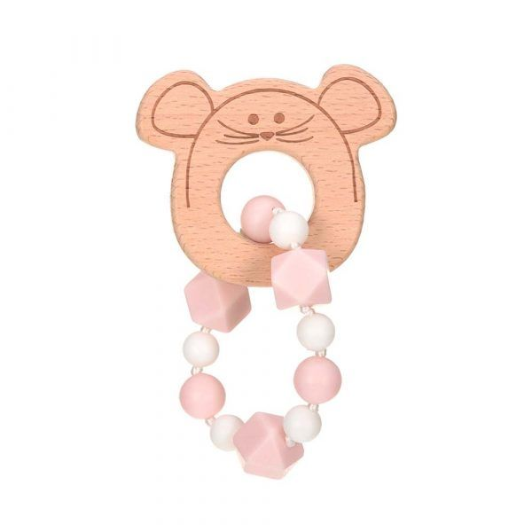 Pulsera Mordedor Lassig Little Chums Mouse
