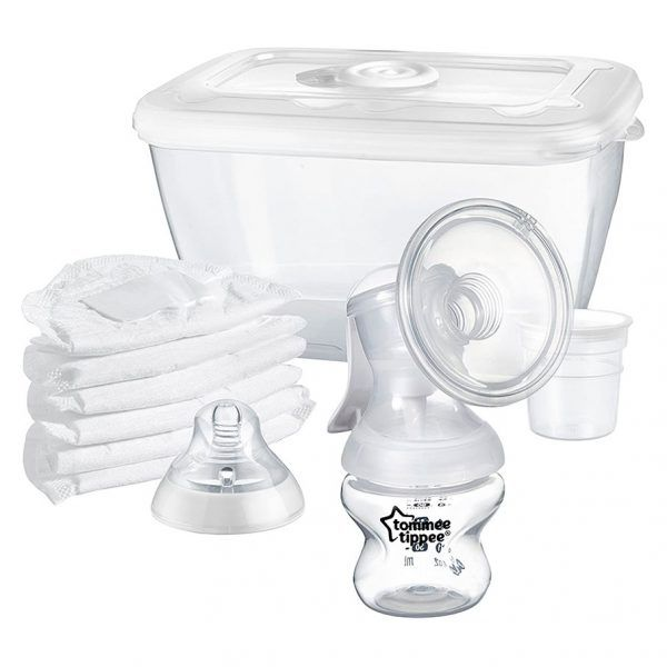 Pack Sacaleches Manual Tommee Tippee Closer to Nature